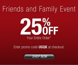 Undergear friends and family sale