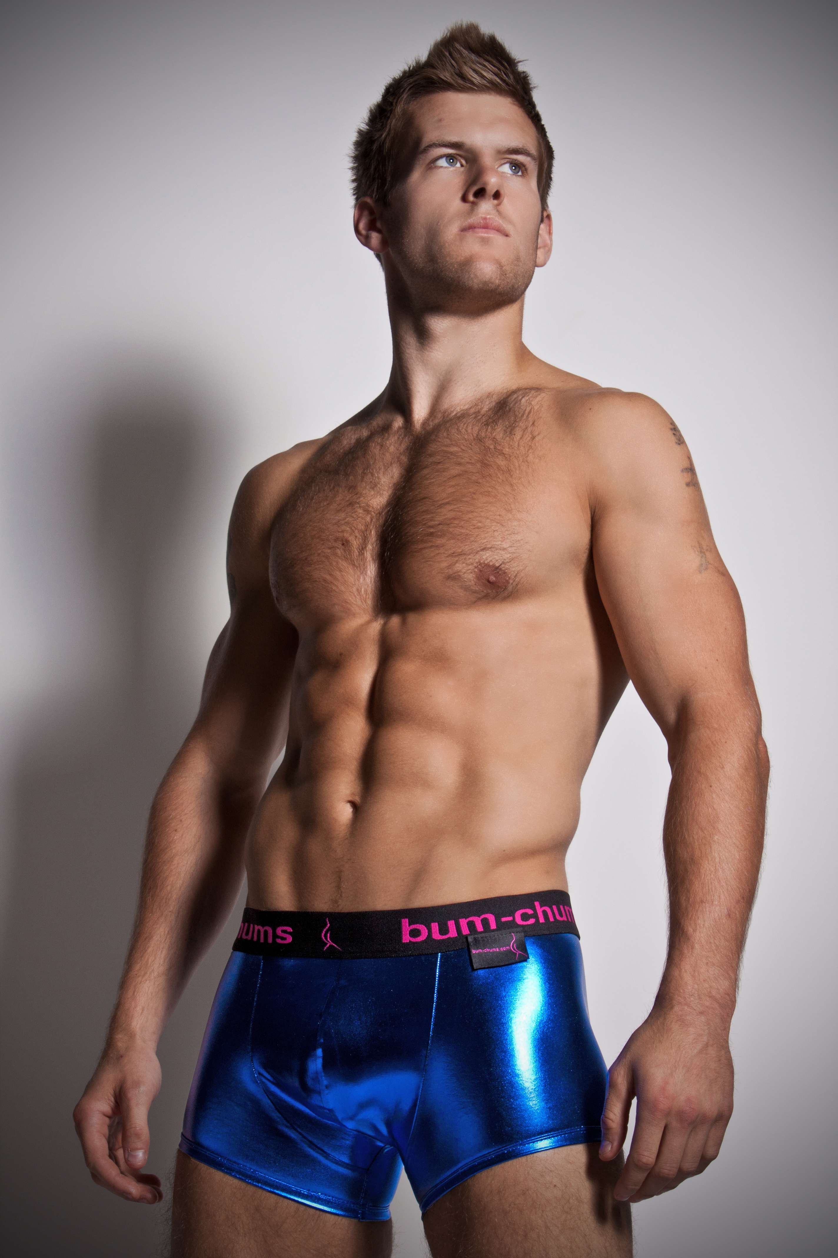 ... and so the birth of Bum-chums collection of men's underwear was born.  Check out this fun collection of men's underwear at Dead Good Undies!