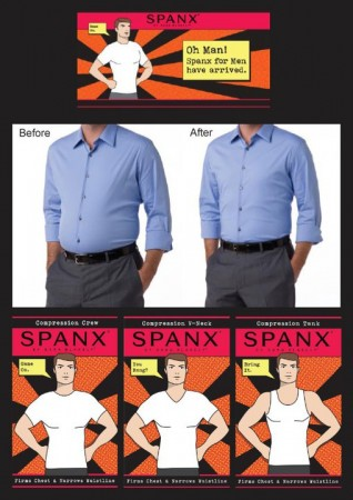 spanx mens slimming shapewear