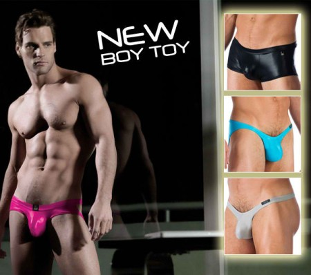 xtra micro bikini. The Boy Toy range is available in a Boxer Brief, .
