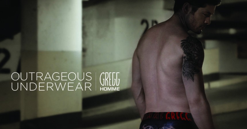 Gregg Homme outrageous underwear