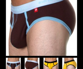 andrewchristian baby rib show-it brief