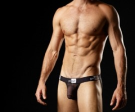 good devil sexy sheer mesh mens underwear