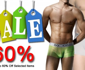 60 percent sale on mens underwear