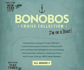 bonobos cruise collection