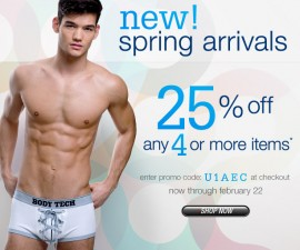 spring collection undergear sale